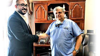 Photo of الدكتور. محفوظ جريس رئيس جمعية أطباء الأسنان لـ كـاريـزما