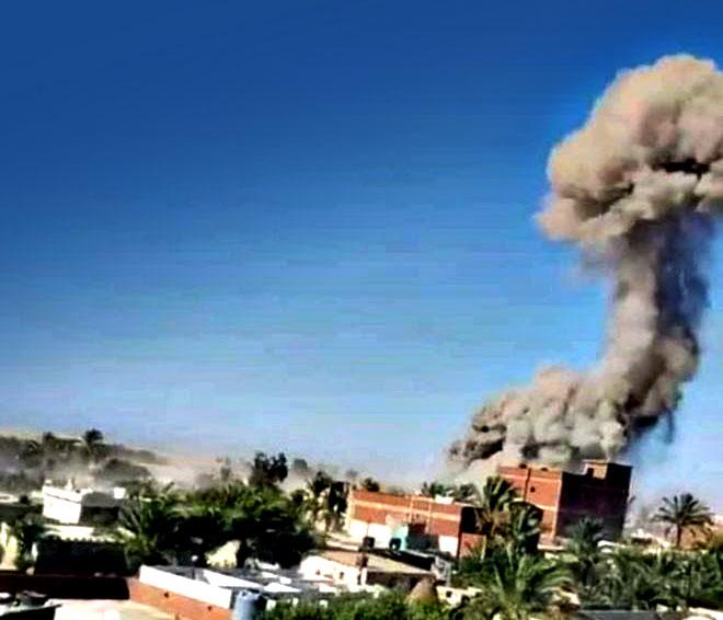 Photo of هجوم بئر العبد: قتلى وجرحى في هجوم مسلح على معسكر للجيش المصرى بشمال سيناء