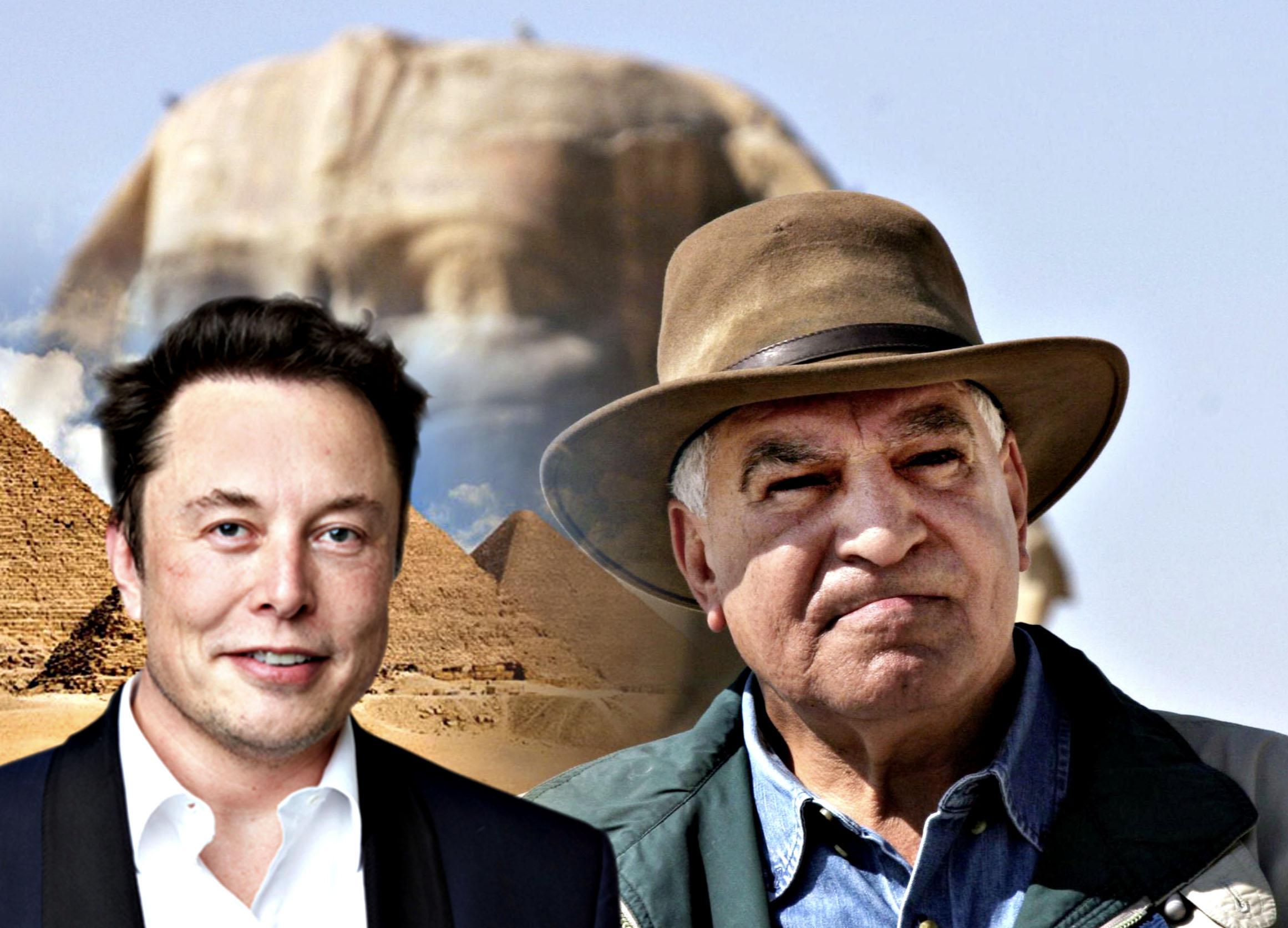 Photo of علماء آثار مصريون: الكائنات الفضائية لم تبن الأهرامات