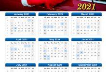 Photo of Calendar 2021