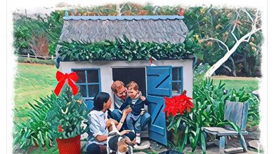 Photo of Meghan and Prince Harry share Christmas card starring little Archie