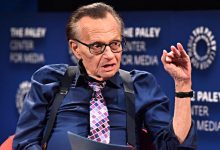 Photo of Larry King, legendary talk show host, dies at 87